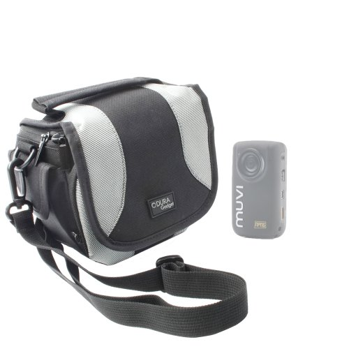 duragadget-portable-camera-case-with-padded-interior-multiple-pockets-and-adjustable-shoulder-strap-