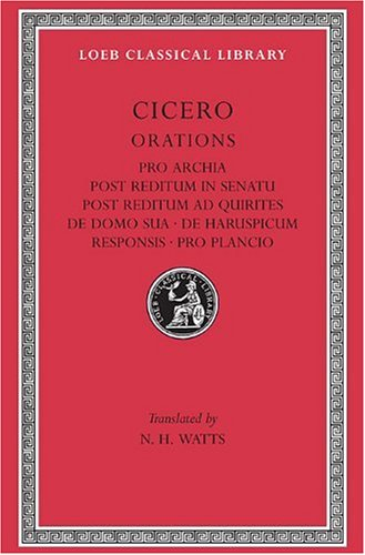 Price comparison product image Pro Archia: 011 (Loeb Classical Library)