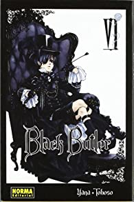 BLACK BUTLER 6 par Yana Toboso