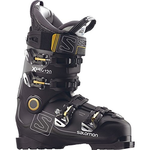 Salomon X Pro 120 Herren-Skistiefel L39935600 Black/Metallic Black Gr. 29.5