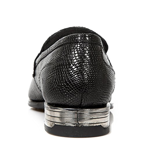 New Rock M Nw154 S1, Mocassins Homme Black