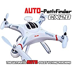 MODELTRONIC Dron radio control CX20 Cheerson Auto-Pathfinder GPS FPV RTF Open Source CX-20