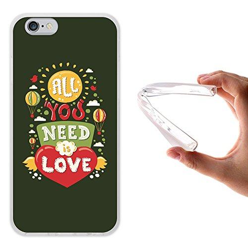 iPhone 6 6S Hülle, WoowCase Handyhülle Silikon für [ iPhone 6 6S ] Carpe Diem Handytasche Handy Cover Case Schutzhülle Flexible TPU - Transparent Housse Gel iPhone 6 6S Transparent D0378
