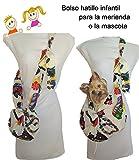 Tasche für hunde. Kleintiere. und Mädchen. HIPPIE. kleine Hunderassen kleine Hunderassen bis zu 3 Kgr. verstellbarer Schultergurt. Handmade . Reinigbarer