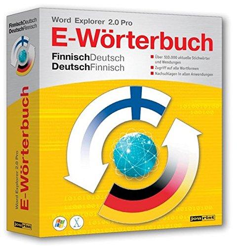 Word Explorer 2.0 Pro Finnisch/Deutsch, Deutsch/Finnisch