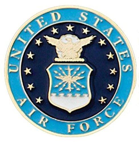 U.S Air Force–Gürtelschnalle versilbert Belt Buckle Metal Relief–Made in USA # ME59
