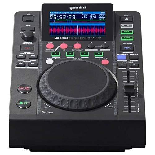 Gemini MDJ-500 | DJ CD Media Player |Slot MP3USB DISP.LCD (Cd-player Gemini)