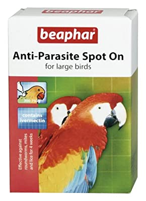 Beaphar Spot On parasite pet caged bird kills mite lice tick flea by Beaphar