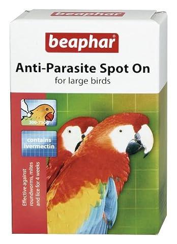 Beaphar Spot auf Parasit Pet Eingesperrten Vogel tötet Milben Läuse Zecken Floh