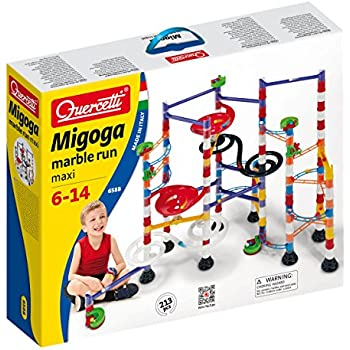 Quercetti - 6568 - Jeu de Construction - Marble Run Double Spiral