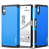 J&D Case Compatible for Xperia Z5 Case, Heavy Duty [Dual
