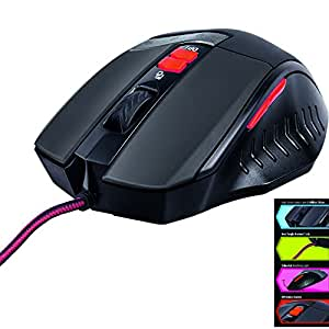 iBall Redeye A9 Optical 3500 dpi and 7 Programmable Buttons Gaming Mouse