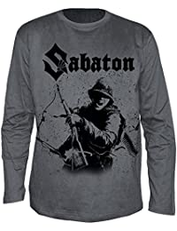 Sabaton - Soldier Grey Band Longsleeve