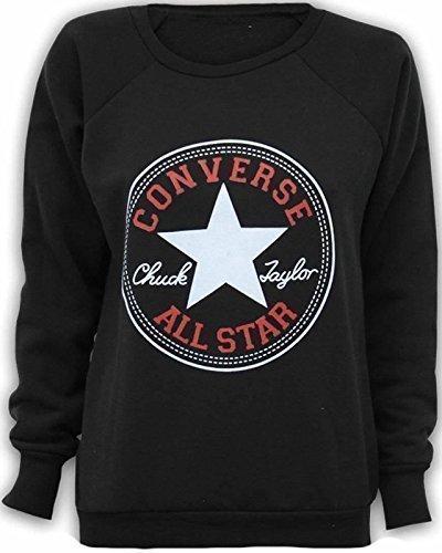 generic-sweat-shirt-femme-fille-design-converse-all-star-noir-s-m-36-38-gris