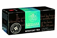 Wissotzky English Breakfast, 1.76-Ounce Boxes (Pack of 6)