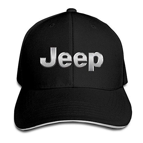yhsuk-jeep-logo-sandwich-peaked-hat-cap-black