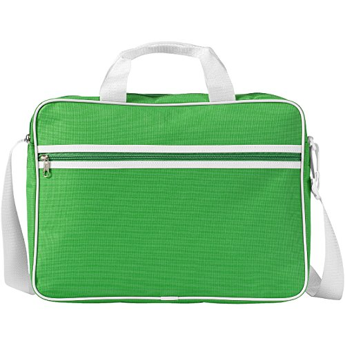 Borsa conference portacomputer 15,6'' - navy/solido bianco verde/solido bianco