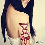 "Tatouage Temporaire ArtWear Tattoo ""Big Bows & Ribbons"""