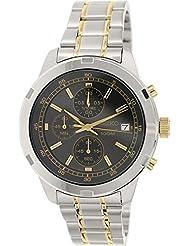 Seiko Herren-Armbanduhr Quartz Chronograph Quarz Edelstahl SKS425P1