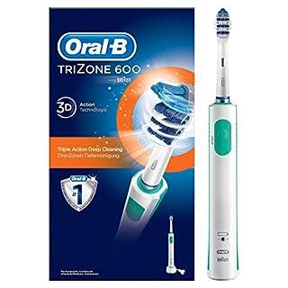 Oral-B TriZone 600 Elektrische Zahnbürste, mit Timer und TriZone Aufsteckbürste, weiß (B00DDD3J2M) | Amazon Products