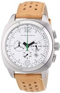 Baldessarini Herren-Armbanduhr XL AMS Chronograph Quarz Leder Y8061W/20/00