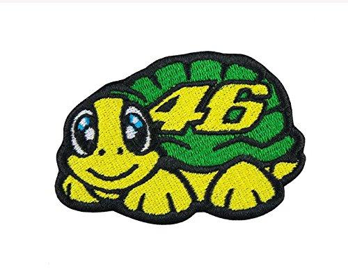 Patch Valentino Rossi Schildkröte Aufnäher Patches Stickerei cm 8x 5Replica (Stickerei Patches Patch)