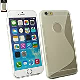 "Emartbuy® Apple Iphone 6 6G 6S 4.7 "" Zoll Ultra Slim Gel Hülle Schutzhülle Case Cover Klar"