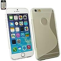 "Emartbuy® Apple Iphone 6 6G 6S 4.7 "" Zoll Ultra Slim Gel Hülle Schutzhülle Case Cover Klar"