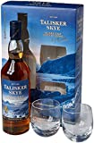 Talisker Skye Whisky with Two Glasses Gift Pack, 70 cl