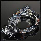Die besten Startseite Taschenlampen - ZQ 19,34 - BORUIT Wiederaufladbare Taschenlampe; RJ-3000; 4 Bewertungen