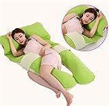 100% a forma di U cotone donne incinte Belt cuscino di protezione ambientale multifunzione morbidezza serica Durante la gravidanza cuscino per allattamento , A