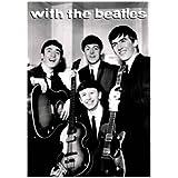 """Poster de música PLASTIFICADO. Los Beatles en sus primeros años, con cita en INGLES """"With the Beatles"""". Medida estandarizada """"A1"""" aprox. 84,1 x 59,4 cm."""