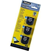 Fellowes Safecut - Pack 3 cuchillas de repuesto para cizalla