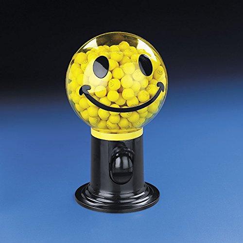 cama24com Smiley Kaugummispender Kaugummiautomat Süßigkeiten-Spender Kaugummi Palandi®