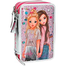 Top Model - Estuche triple Friends, color rosa (008989A)