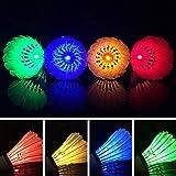 Led lumineux, durable, DE badminton volants en intérieur/extérieur léger Sports blocs (4Couleur 4pcs) 4 color 4pcs Voir image