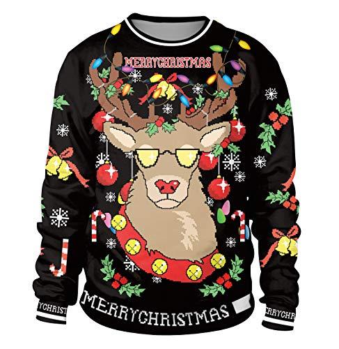 Sudadera Navidad Estampadas Sudaderas Navideñas Unisex