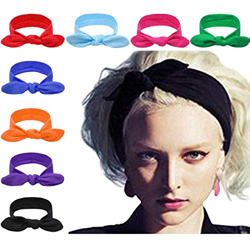 DRESHOW - Paquete de 8 diademas para el pelo, accesorios de...