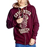 Harry Potter Hooded size S Sweater Gryffindor Quidditch Vintage sudadera - official product