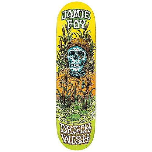 Deathwish Skateboards Jamie Foy Buried Alive Skateboard Deck 20,6cm