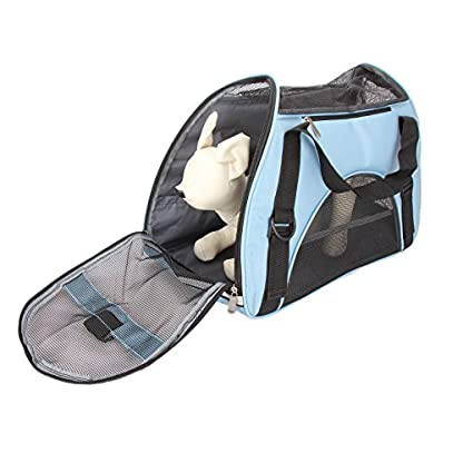 Dromedary Portable Pet Carrier Airline Approved Travel Crate Tote Puppy Handbag For Pet Dog Cat 1
