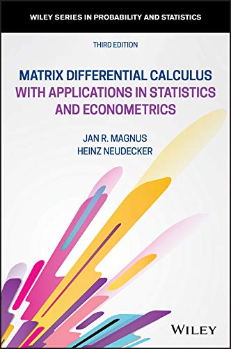 Matrix Differential Calculus with Applications in Statistics
