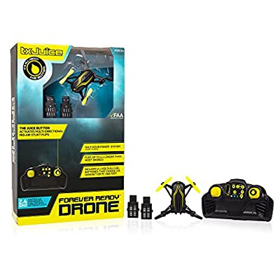 TX Juice Forever Ready Drone - The longest lasting flight time system by TX Juice