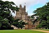 Highclere Schloss Eine 45,7x 30,5cm Fotografieren Fotodruck Highclere Schloss der Standort für Downton Abbey England UK Landschaft Foto Farbe Bild Fine Art Print Fotografie Durch Andy Evans Fotos