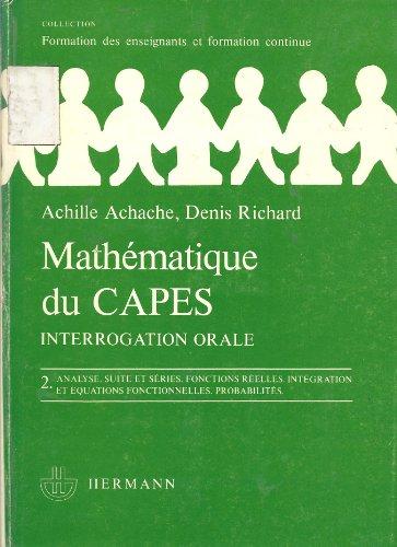 Mathématiques du CAPES : Interrogation ...