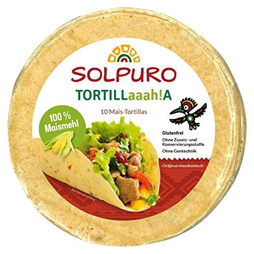 Solpuro Tortillas (100% Maismehl) 250g