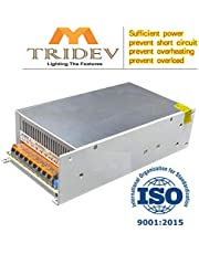 My TRIDEV 5V 60A 300W DC Switch Power Supply for WS2811 2801 WS2812B WS2813 APA102 LED Strip, Pixel Lights CCTV Camera Security System, Radio, Computer Project (DC5V 60A 300W)