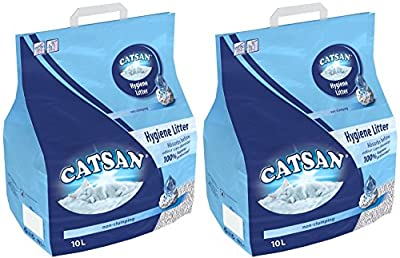 2 x 20L Catsan Hygiene Non-Clumping Cat Litter Multibuy from Catsan