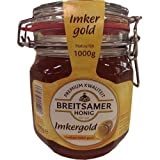 Breitsamer Honig Imkergold Vloeibaar helder goud 1000g Einmachglas (Goldklar)