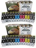 ESMOnline 24 komp. XL Druckerpatronen als Ersatz für Canon Pixma MG6350 Pixma MG7150 Pixma MG7550 Pixma iP8750
